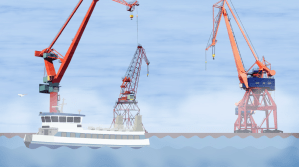 Port of Gothenburg motiongraphics cover image