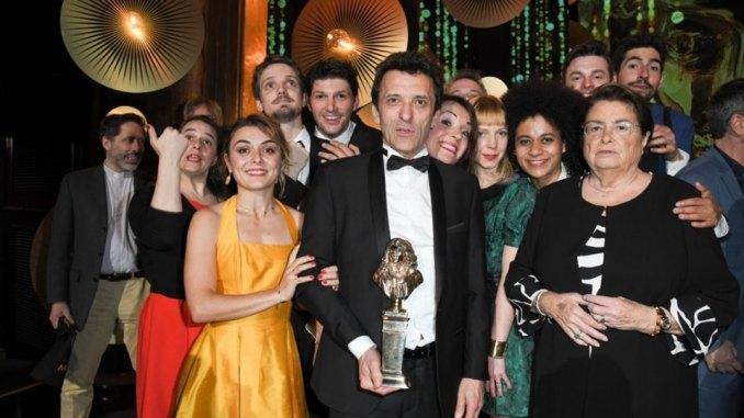 Benoit Solès et La Machine de Turing, grand vainqueurs de la 31e édition des Molières