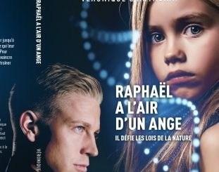 """Page de couverture de """"Raphaël a l'air d'un ange """" de Véronique d'Anthonay"""