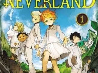 La couverture officielle du manga The Promised Neverland