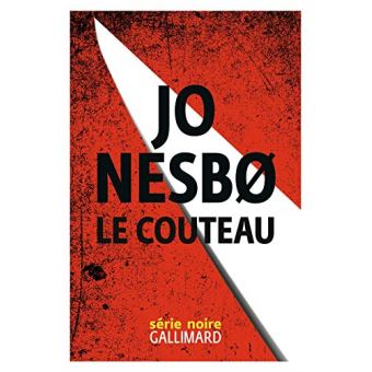 La première page de couverture de Le couteaude Jo Nesbø