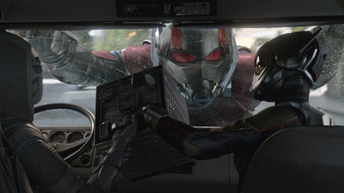 Ant Man, le super héros de la saga de Marvel Studios