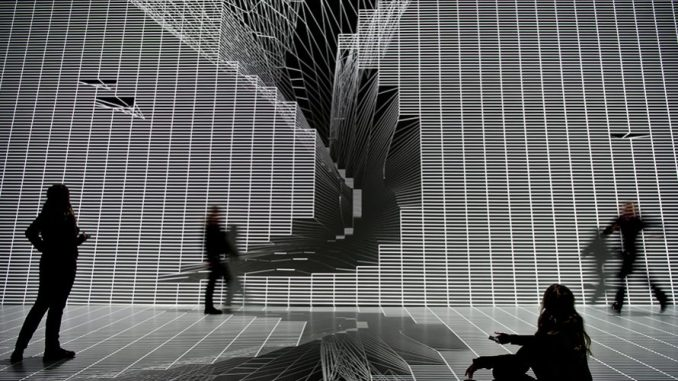 Une oeuvre immersive en compétition à l'Immersive Art Festival