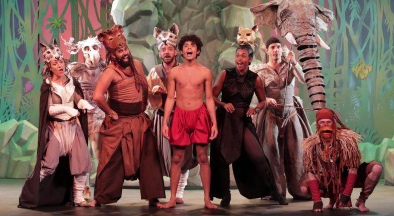 Comédie musicale: Le Livre de la Jungle au Théâtre des Variétés