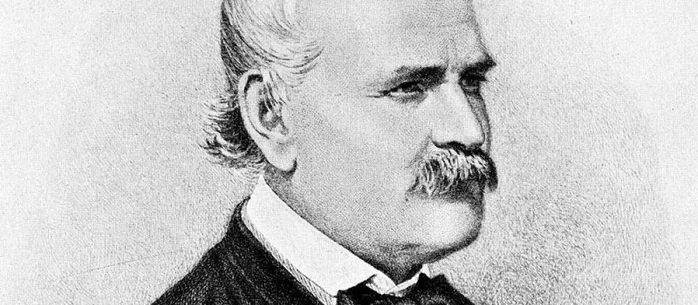 Portrait du médecin hongrois Ignace Philippe Semmelweis (1818-1865), pionnier incompris du lavage de mains (l'asepsie) en milieu hospitalier.