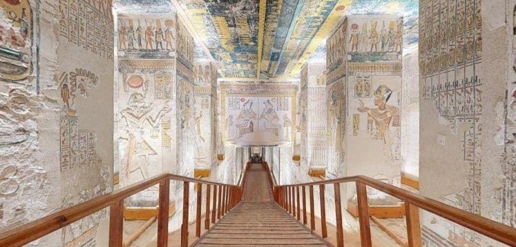 Coronavirus : offrez-vous une visite virtuelle en 3D du tombeau de Ramsès VI
