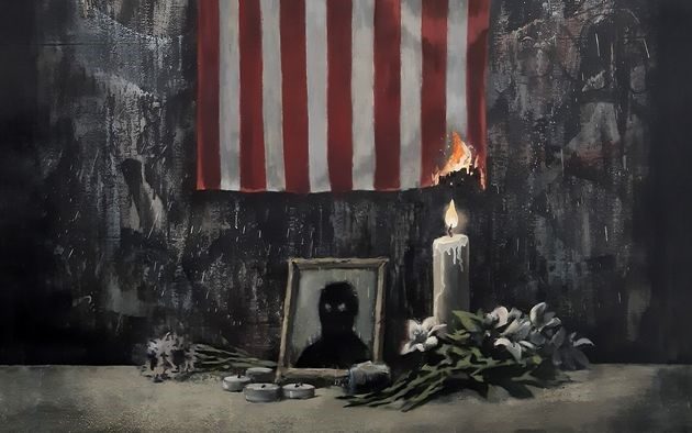 Solidarités: Banksy rend hommage à George Floyd à travers une nouvelle œuvre