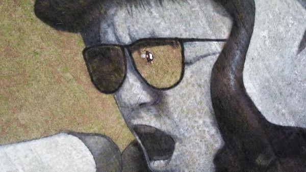 Eurockéennes : une fresque géante pour célébrer la création, après l'annulation du festival