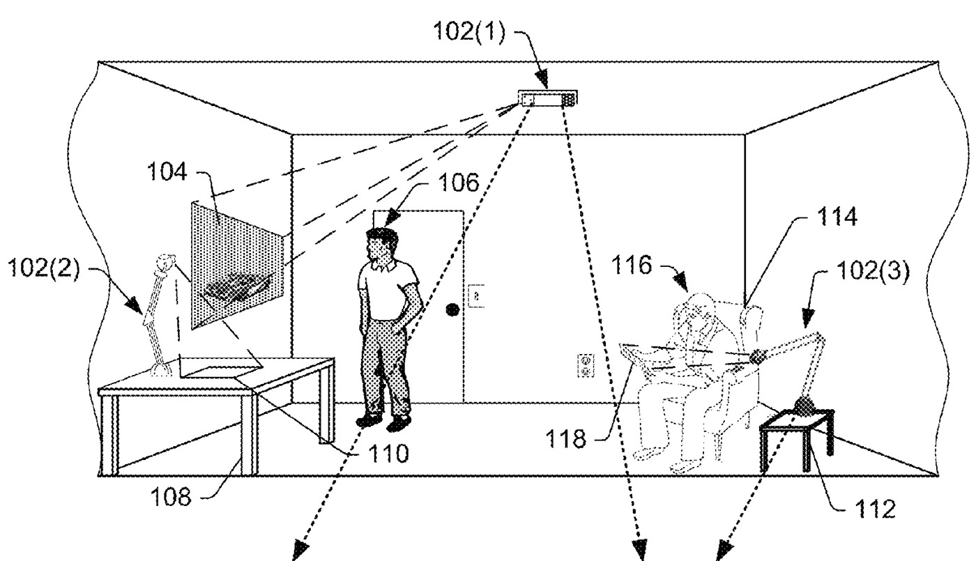 Amazon Basically Just Patented A Living Room Holodeck