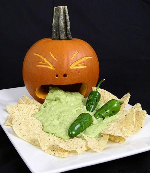 Pumpkin Vomiting Guacamole