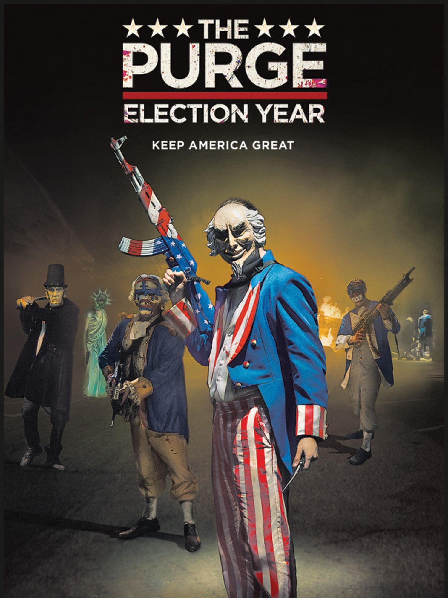 """Vaizdo rezultatas pagal užklausą """"THE PURGE: ELECTION YEAR"""""""