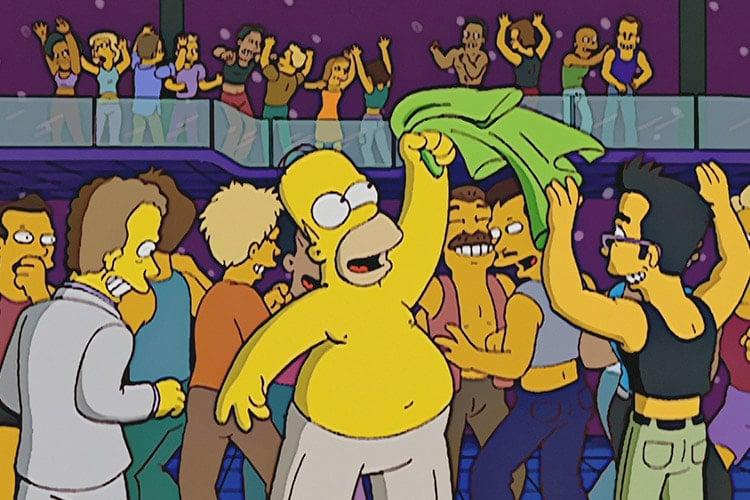 """Los 10 momentos más GAY de """"Los Simpsons"""""""