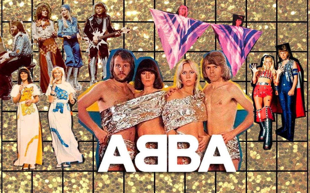 ABBA: Sus LOOKS más GLITTER XTRAVAGANZA!