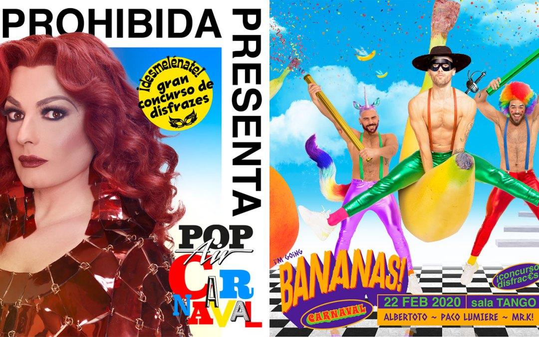 2000€ en premios en los Carnavales de POPair y BANANAS!