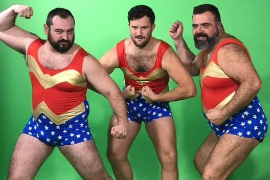 Popair Wonderwoman Bears