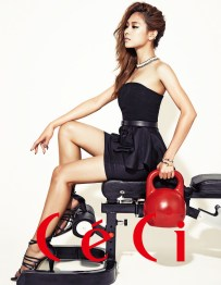 Fei miss A Ceci Magazine August Issue 2013 (4)