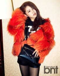 Gayoon 4minute - bnt International December 2013