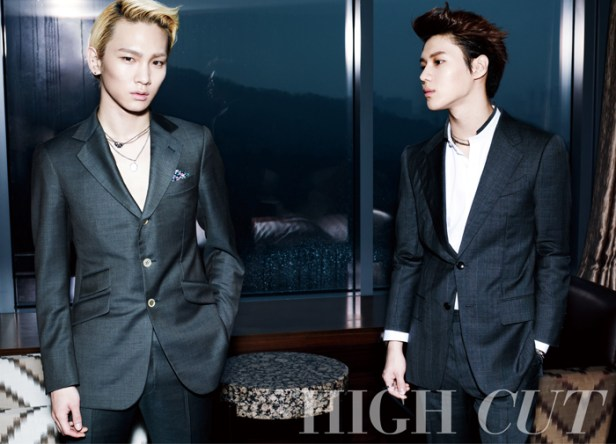 SHINee and f(x) Victoria - High Cut Magazine Vol.100 6