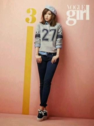 Hyosung and Sunhwa SECRET Vogue Girl March 2014