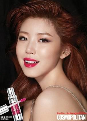 Hyosung SECRET - Cosmopolitan Magazine April Issue 2014 (2)