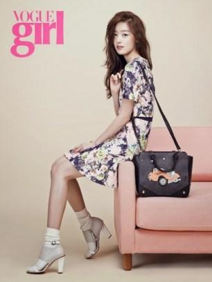 Hyosung Sunhwa Secret - Vogue Girl Magazine March Issue 2014 (2)
