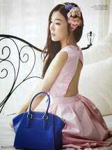 Tiffany Hwang SNSD Girls' Generation - Vogue Girl Magazine March Issue 2014 (2)