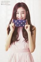 Tiffany Hwang SNSD Girls' Generation - Vogue Girl Magazine March Issue 2014 (3)