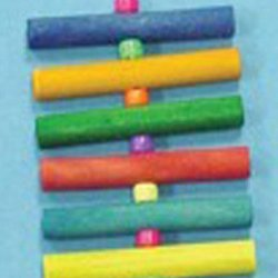 Bird Brainers Dowel Toy w/ Bell 8in