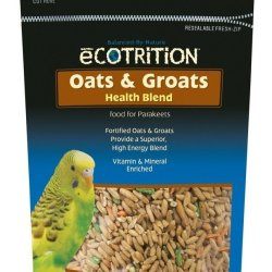 8 in 1 Ecotrition Oats & Groats Health Blend for Parakeets (8oz)