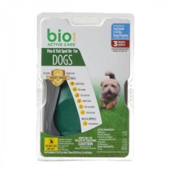Bio Spot Active Care Flea & Tick Spot On for Dogs (Large - 3 Month Supply - (Dogs 31-60 lbs))