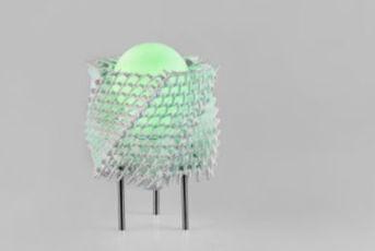 os suportes são produzidos em impressão 3D