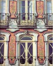 pormenor prédio em Aveiro