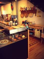 espaço café e loja