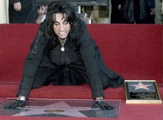 alice cooper walk star