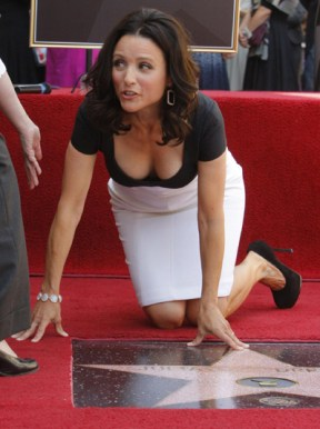 julia louis dreyfus star walk