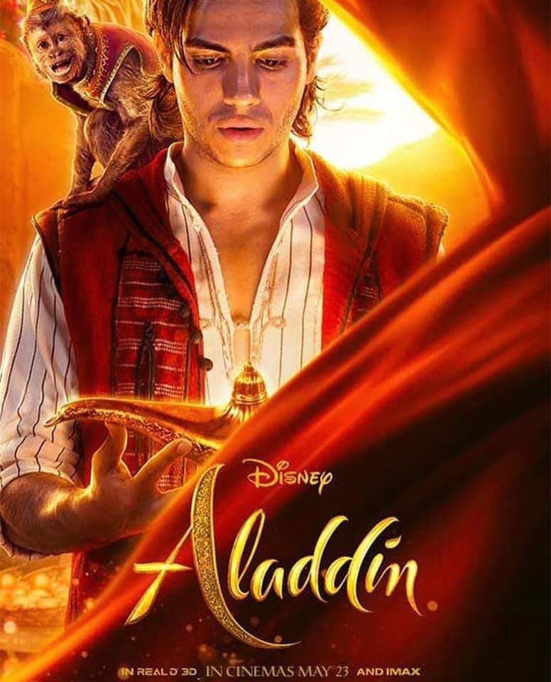 Disney Prezentuje Nowe Plakaty Filmowe Aladyna Popbookownik