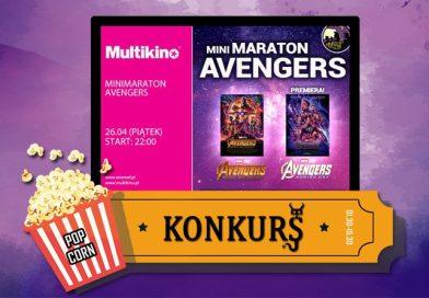 Wygraj podwójną wejściówkę na ENEMEF: Minimaraton Avengers