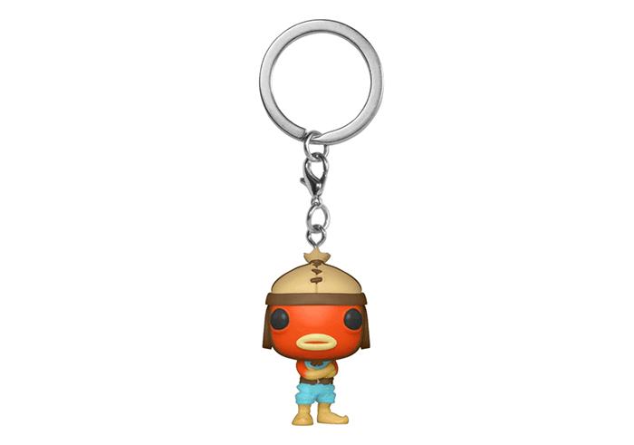 Keychain-FUN44755-FUNKO Fishstick Pocket Pop Fortnite