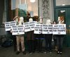 PETA protest of the olsen twins