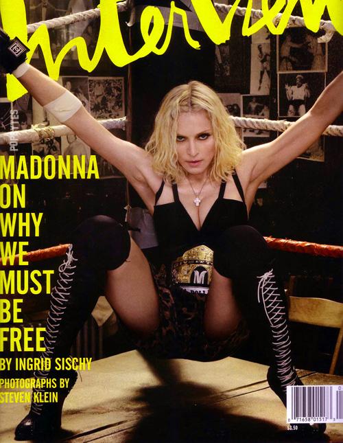 madonna interview magazin