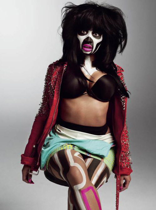 Nicki Minaj V magazine