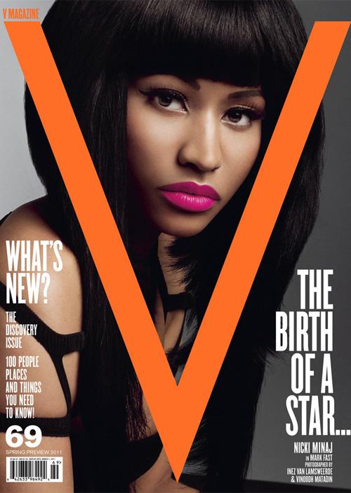 Nicki Minaj V magazine