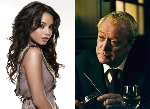 Vanessa Hudgens and Michael Caine