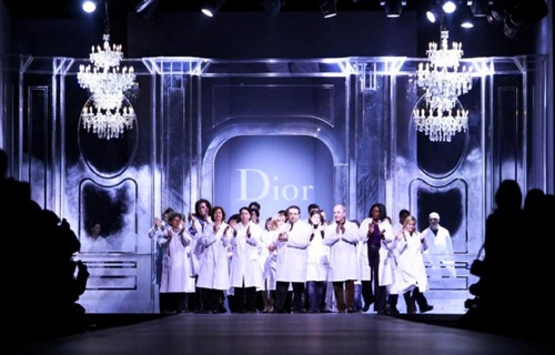 Christian Dior Fashion Week