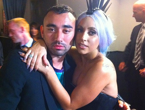 Nicola Formichetti and Lady Gaga