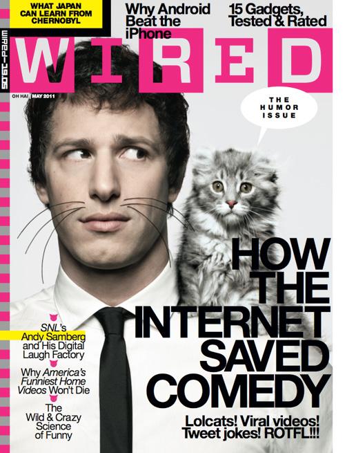 Andy Samberg - Wired Magazine