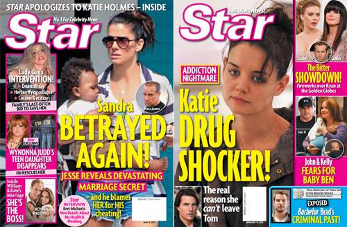 Star Magazine - Katie Holmes