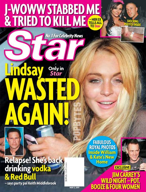 Lindsay Lohan - Star Magazine