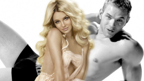 Britney Spears and Kellan Lutz