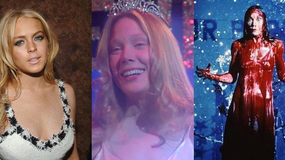 Lindsay Lohan and Sissy Spacek